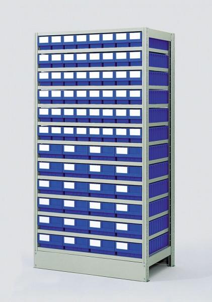 Komplettregal GKR-6-727-Z mit GSB-Systemboxen