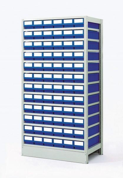 Komplettregal GKR-4-721-Z mit GSB-Systemboxen