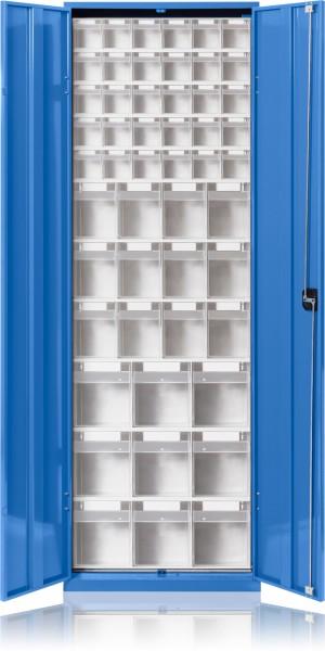 Klarsicht-Magazinschrank mit Türen KSM 643