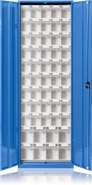 Klarsicht-Magazinschrank mit Türen KSM 054
