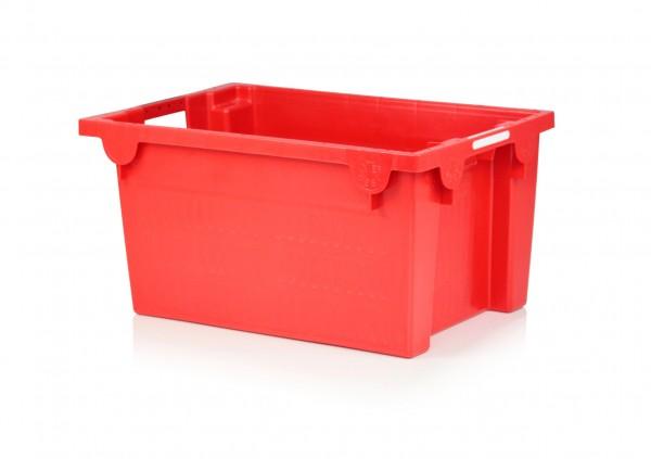 Drehstapelbehälter, rot