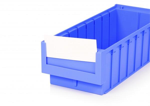 Etiketten GET-16-VE für Systembox Breite 160 mm