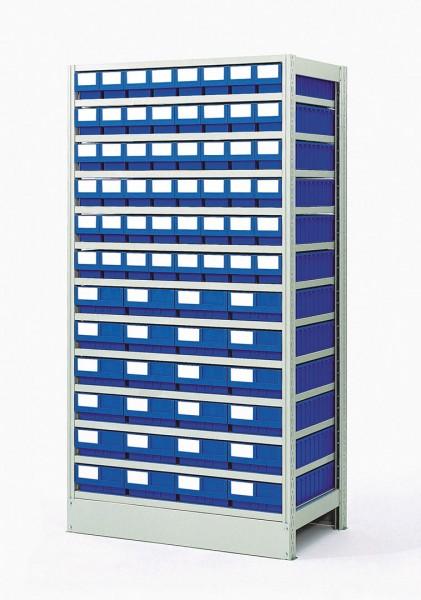Komplettregal GKR-4-723-Z mit GSB-Systemboxen