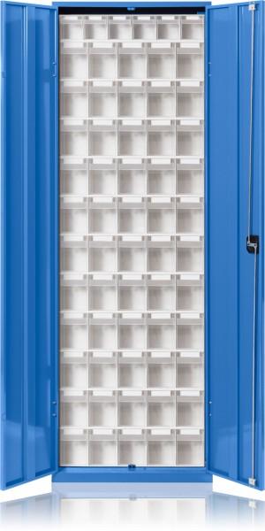 Klarsicht-Magazinschrank mit Türen KSM 165