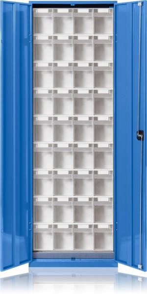 Klarsicht-Magazinschrank mit Türen KSM 004