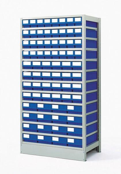 Komplettregal GKR-4-724-Z mit GSB-Systemboxen